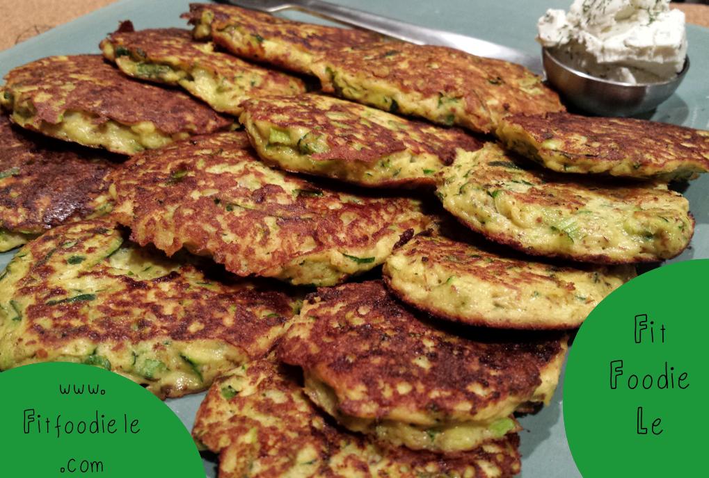 Zucchini Pan Fried Cakes